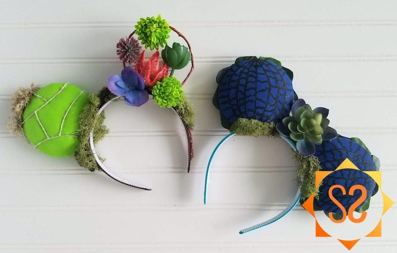 Two Pairs of DIY Pandora-Inspired Minnie Ears