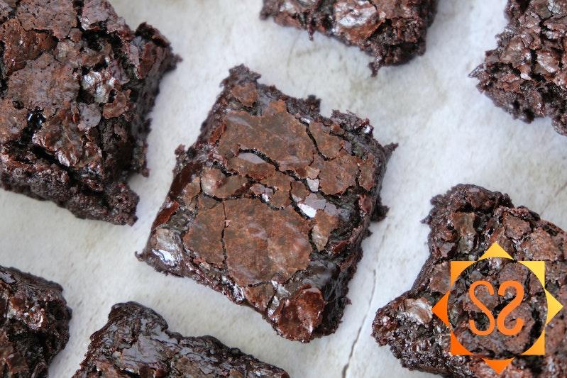 Vegan Chewy Brownies