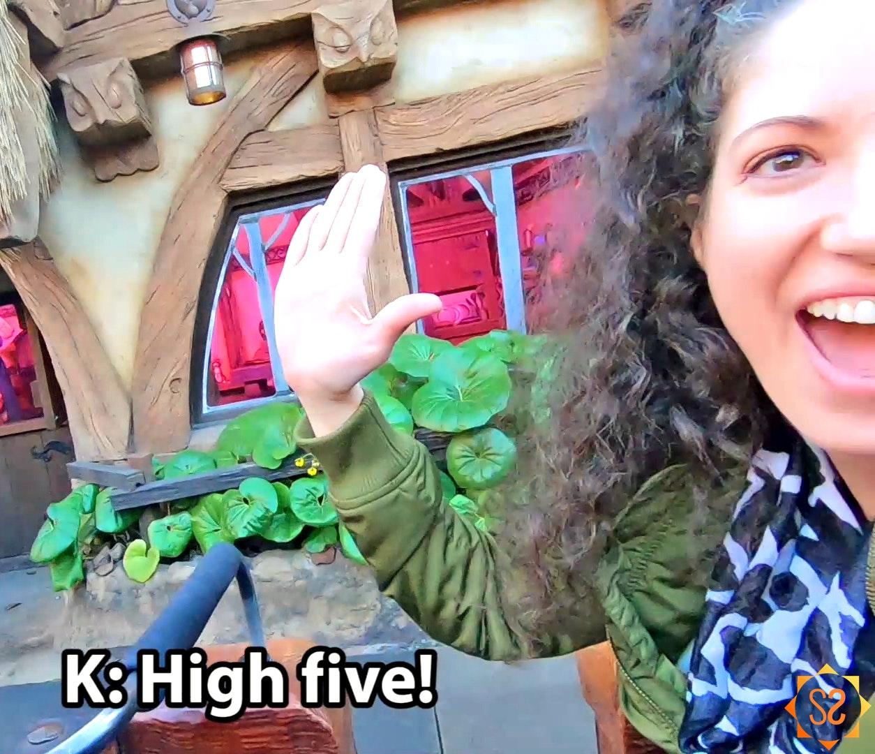 Mine Train High Five